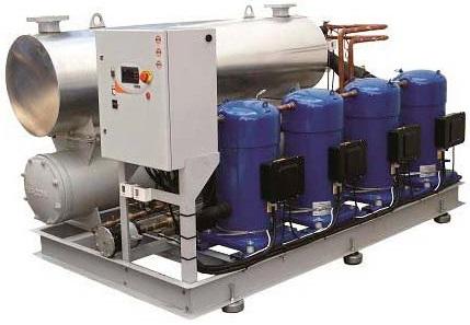 Chiller para refrigeração industrial
