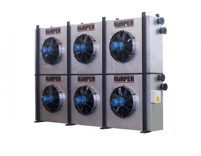 Dry cooler industria