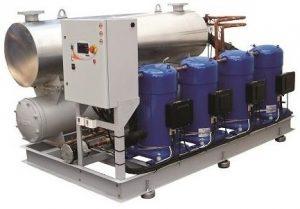 Refrigeração industrial com chiller