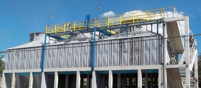 Fábrica de torre de resfriamento