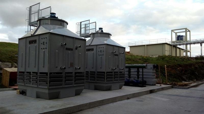 Torre de resfriamento FCQ
